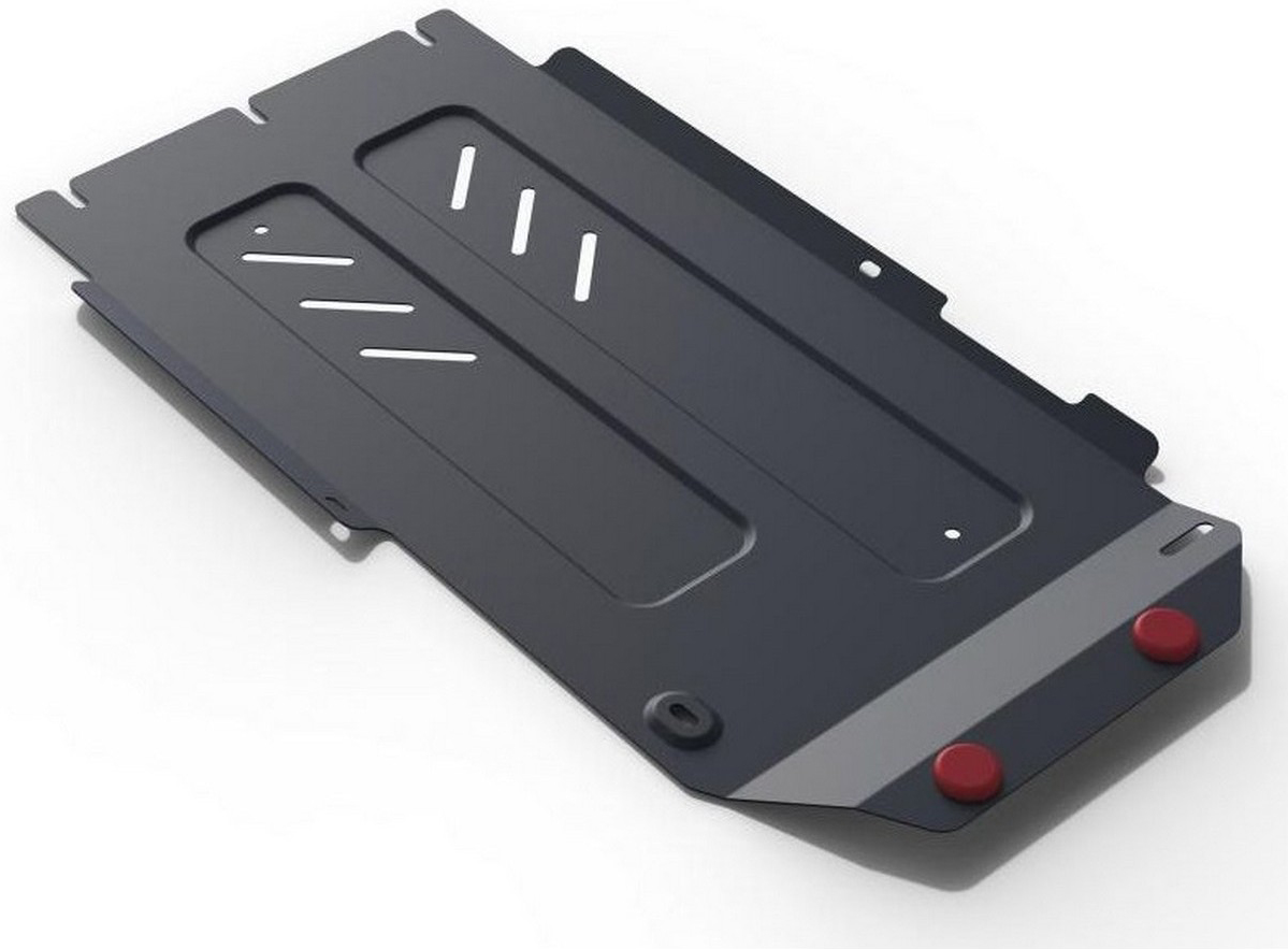 Защита КПП и РК АвтоБроня для Kia Stinger AWD 2018-н.в., сталь 2 мм, крепеж в комплекте. 111.02842.1
