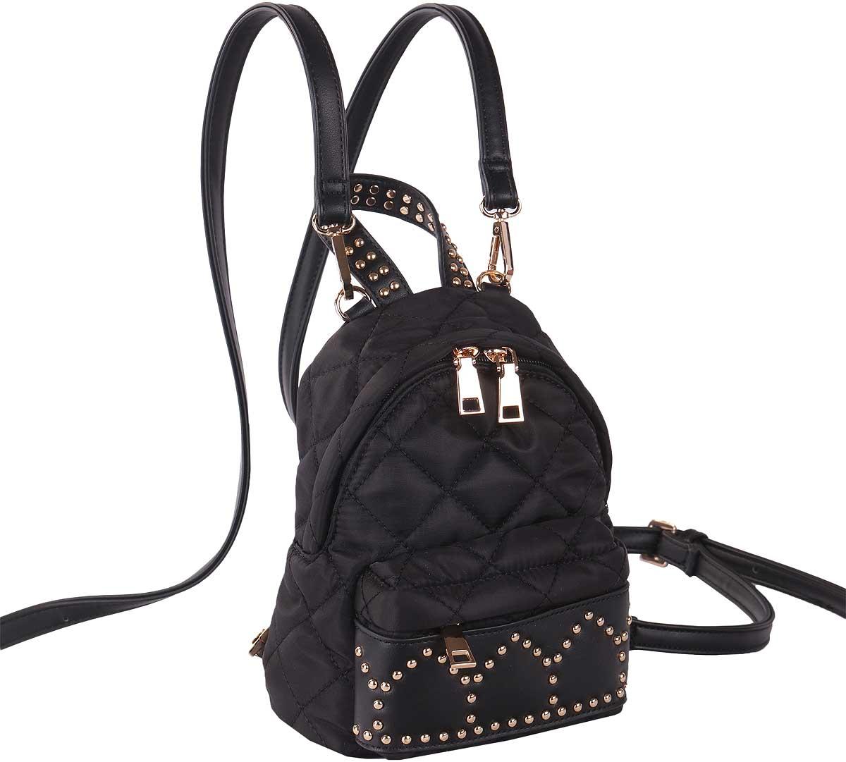 Рюкзак женский Pola, цвет: черный. 74544 рюкзак женский pola цвет черный 74544