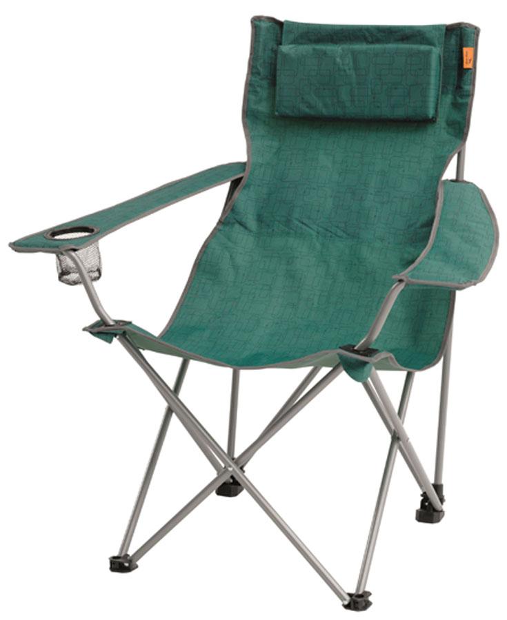 Кресло складное Easy Camp Roanne, цвет: зеленый, 86 х 65 х 93 см кресло складное larsen camp fcl 4134