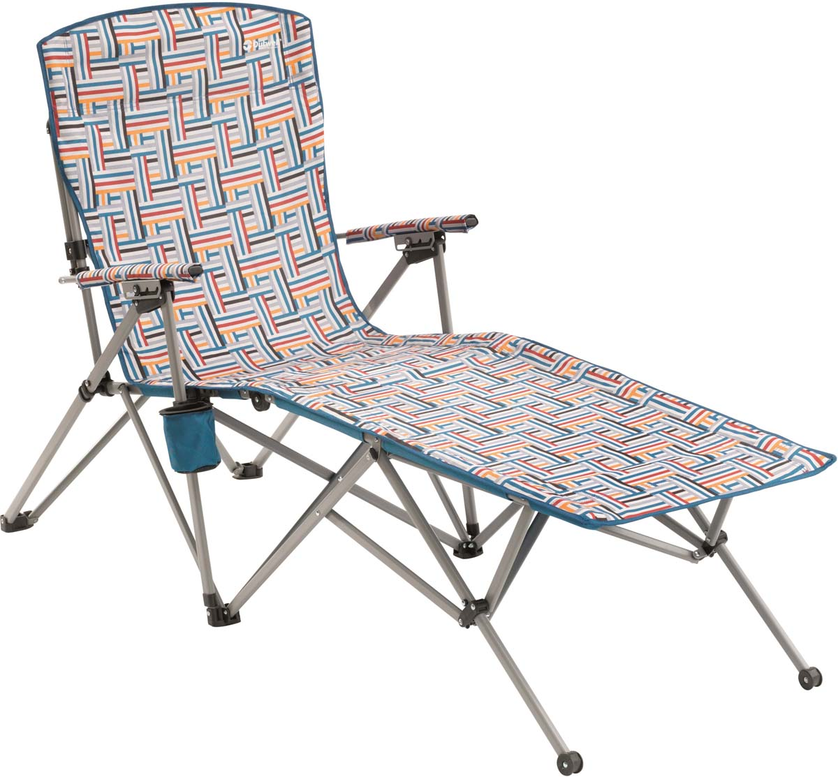 цена на Кресло-шезлонг складное Outwell Leona Summer, 54/65 х 173 х 106 см
