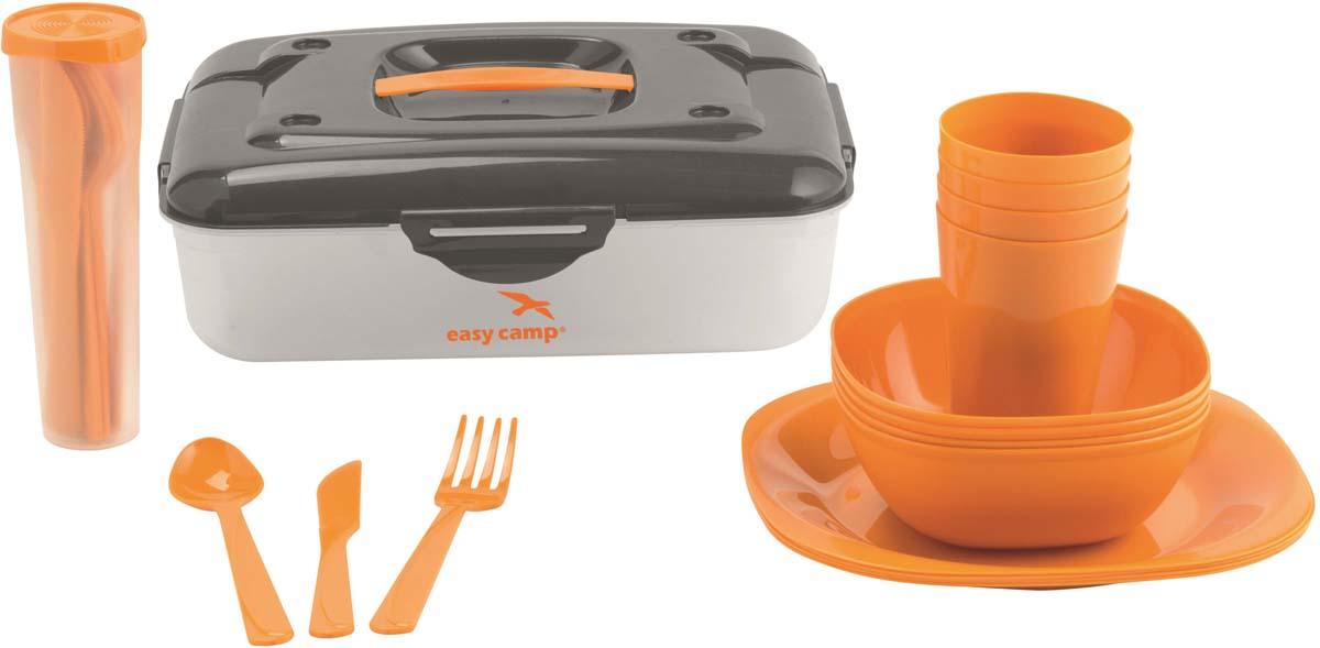 Набор посуды для пикника Easy Camp Cerf Picnic Box, 24 предмета набор для пикника te 415 picnic