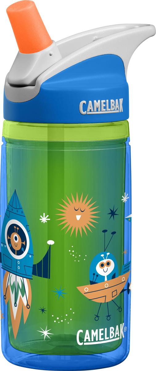 Термобутылка Camelbak Eddy, цвет: голубой, зеленый, 400 мл. 1305403040 термобутылка camelbak podium chill 620 мл 1300403062