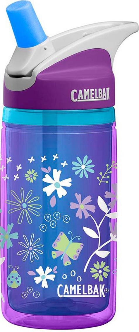 Термобутылка Camelbak Eddy, цвет: синий, сиреневый, 400 мл. 1305501040 цена