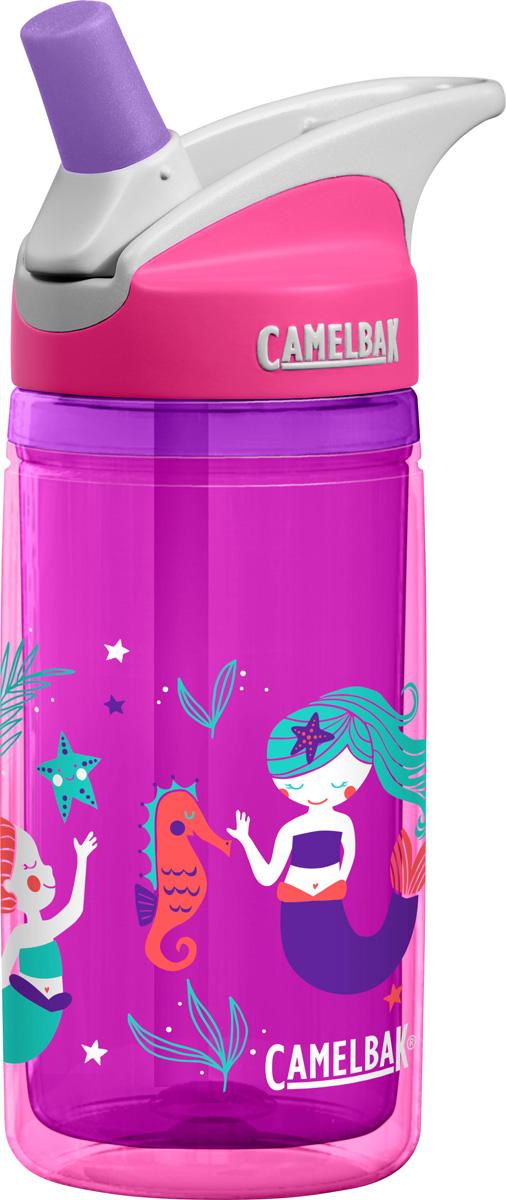 Термобутылка Camelbak Eddy, цвет: розовый, фиолетовый, 400 мл. 1305603040 цена
