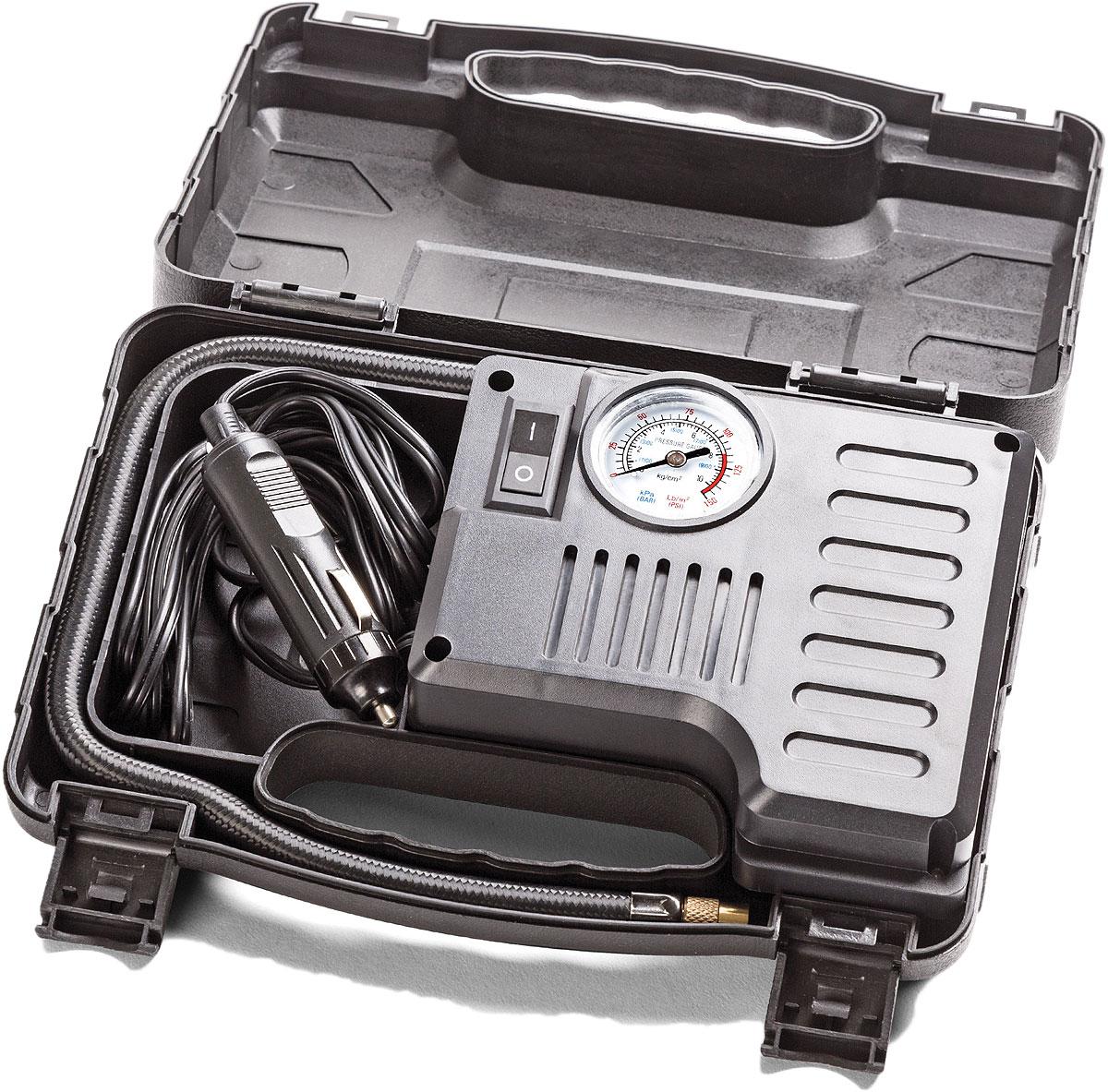 Компрессор автомобильный Autoprofi, 15 л/мин, 12 В, 60 Вт компрессор воздушный barbus sb 248a с регулятором 1 канал 3 5 л мин