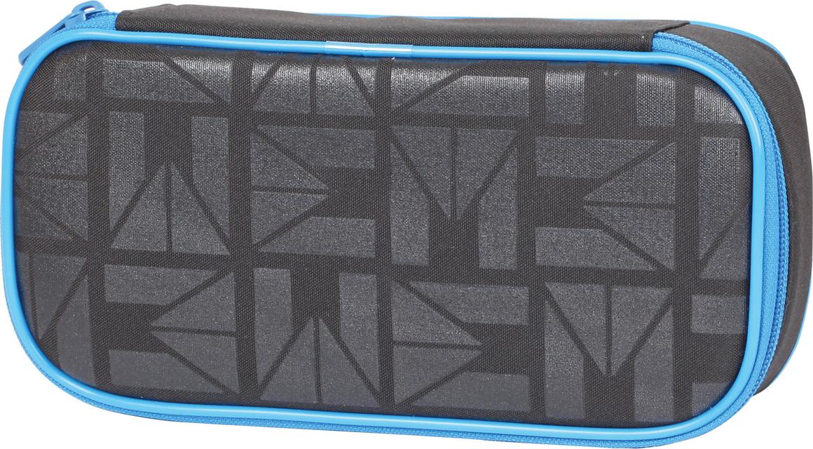 Tiger Family Пенал Solid Black цвет черный 227009
