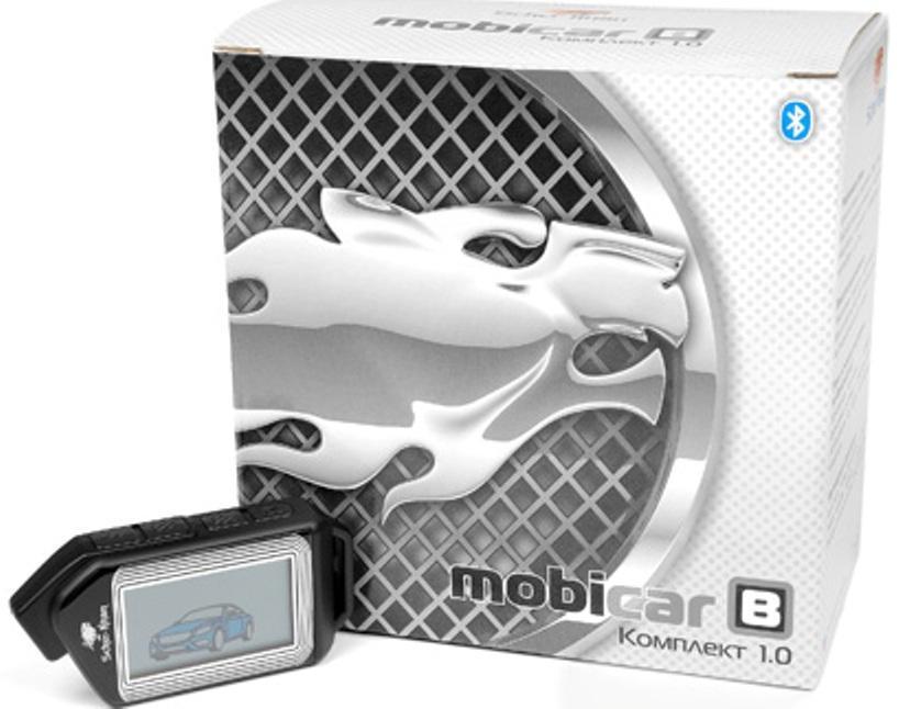 Система охраны автомобиля Scher-Khan Mobicar B, компл. 1.0 автосигнализация scher khan mobicar а v 2 0 модуль автозапуска м1