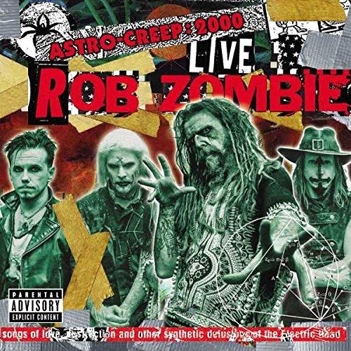 Роб Зомби Rob Zombie. Astro-Creep. 2000 Live (LP) rob zombie rob zombie zombie live 2 lp
