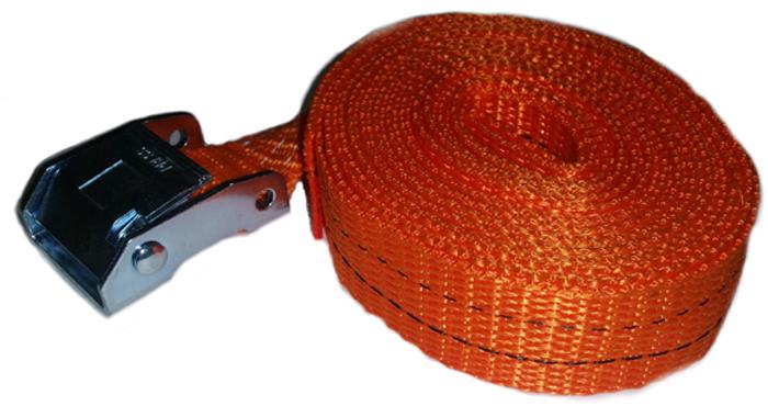 Ремень крепления груза Топ Авто, ширина ленты 25 мм, 800/1600 кг, 3 м на авто mz056
