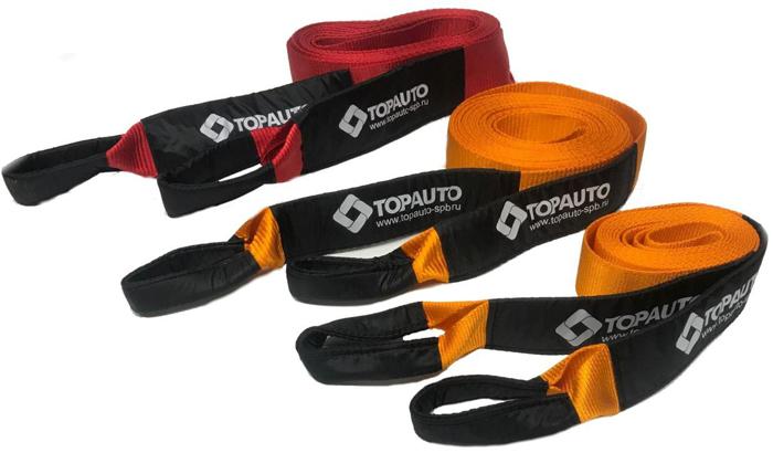 Динамическая стропа Топ Авто, 7 т, 9 м, ширина 70 мм, в сумке, цвет в ассортименте динамическая стропа топ авто 7 т 6 м ширина 70 мм
