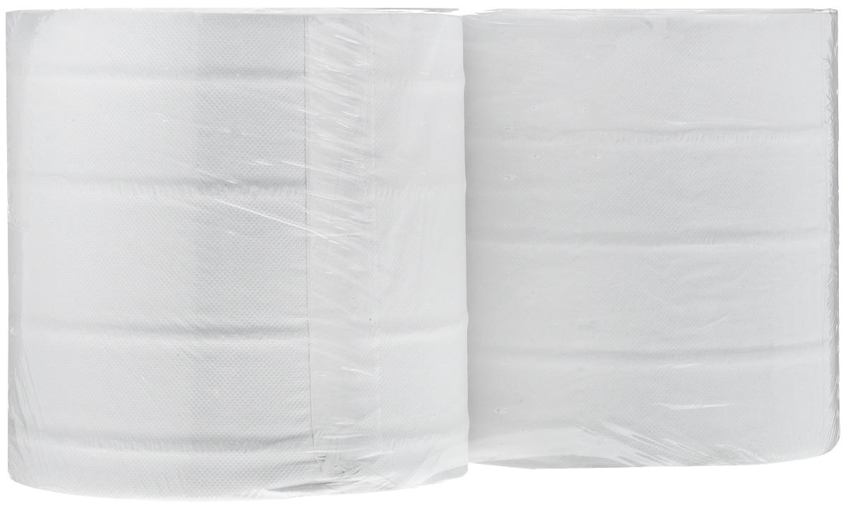 Полотенца бумажные Veiro Professional Comfort, двухслойные, длина 180 м, 2 рулона полотенца бумажные мягкий знак двухслойные цвет белый 4 рулона