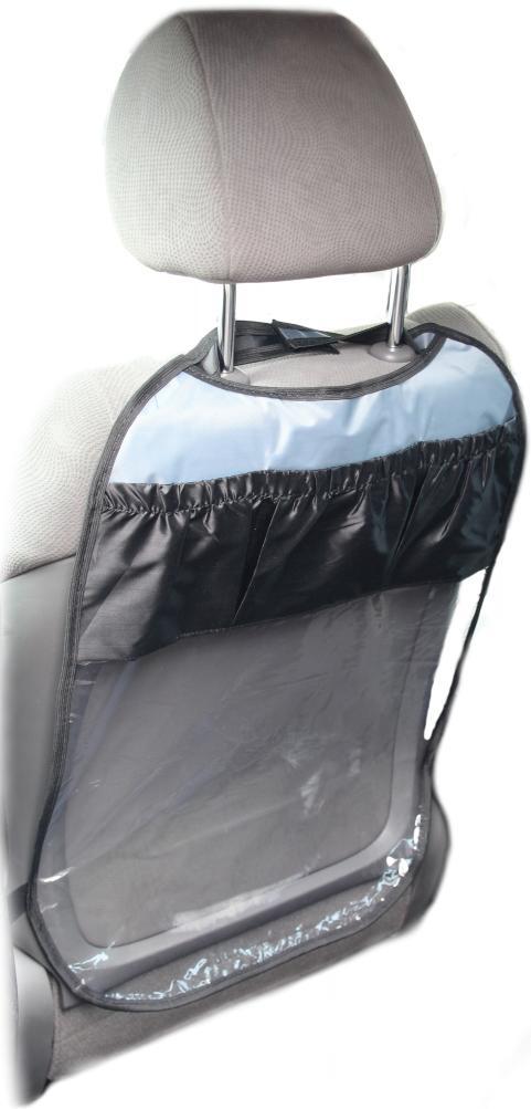 Фото - Защитная накидка на спинку переднего сиденья Топ Авто, с 3 карманами, цвет в ассортименте авто