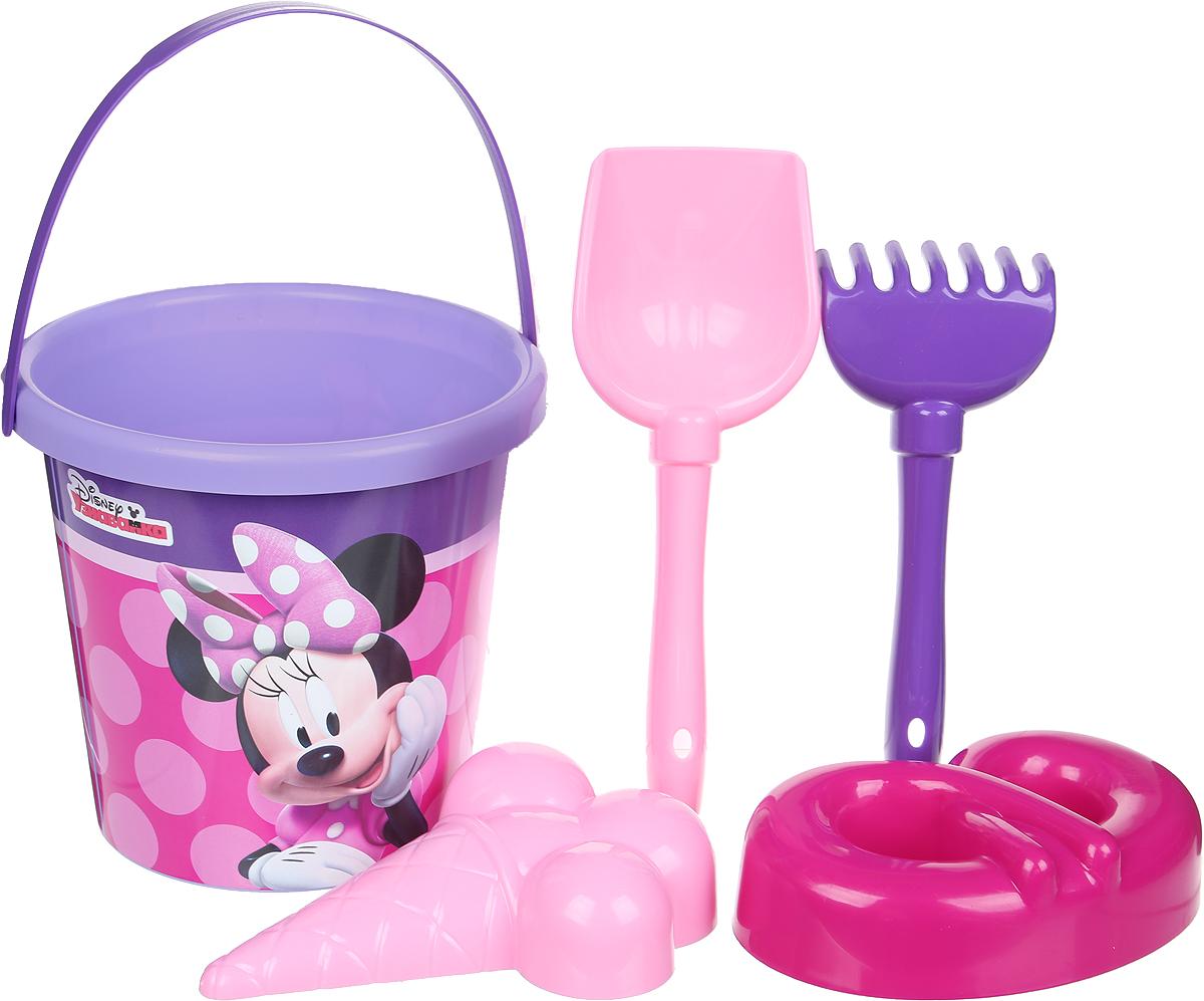 Disney Набор игрушек для песочницы Минни №10, 5 предметов, цвет в ассортименте disney набор игрушек для песочницы минни 4 цвет в ассортименте