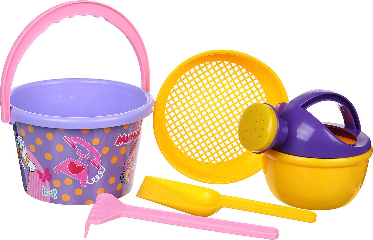 Disney Набор игрушек для песочницы Минни №8, цвет в ассортименте disney набор игрушек для песочницы минни 4 цвет в ассортименте