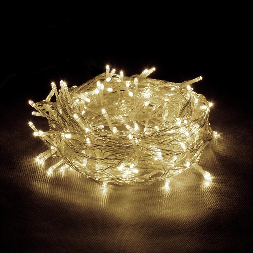 """Гирлянда-конструктор электрическая Vegas """"Бахрома"""", 72 лампы, длина 0,6 м, свет: теплый. 55006"""
