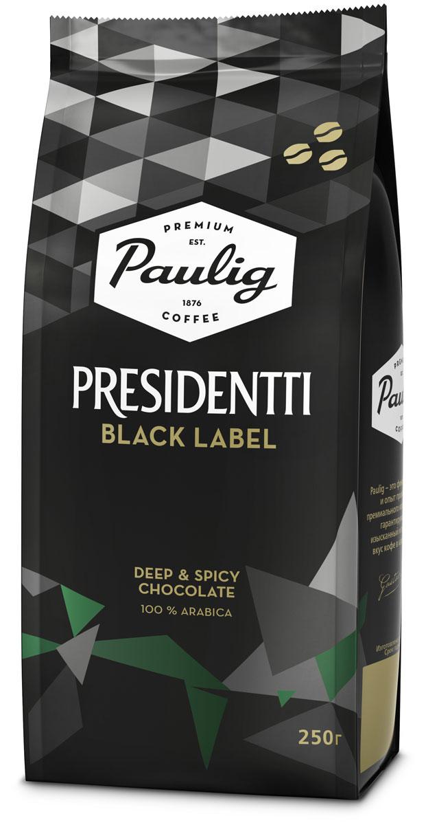 Paulig Presidentti Black Label кофе в зернах, 250 г все цены