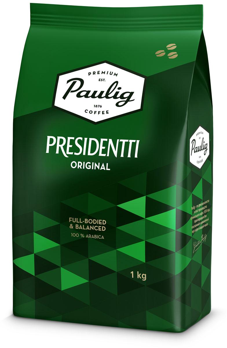 Paulig Presidentti Original кофе в зернах, 1 кг все цены