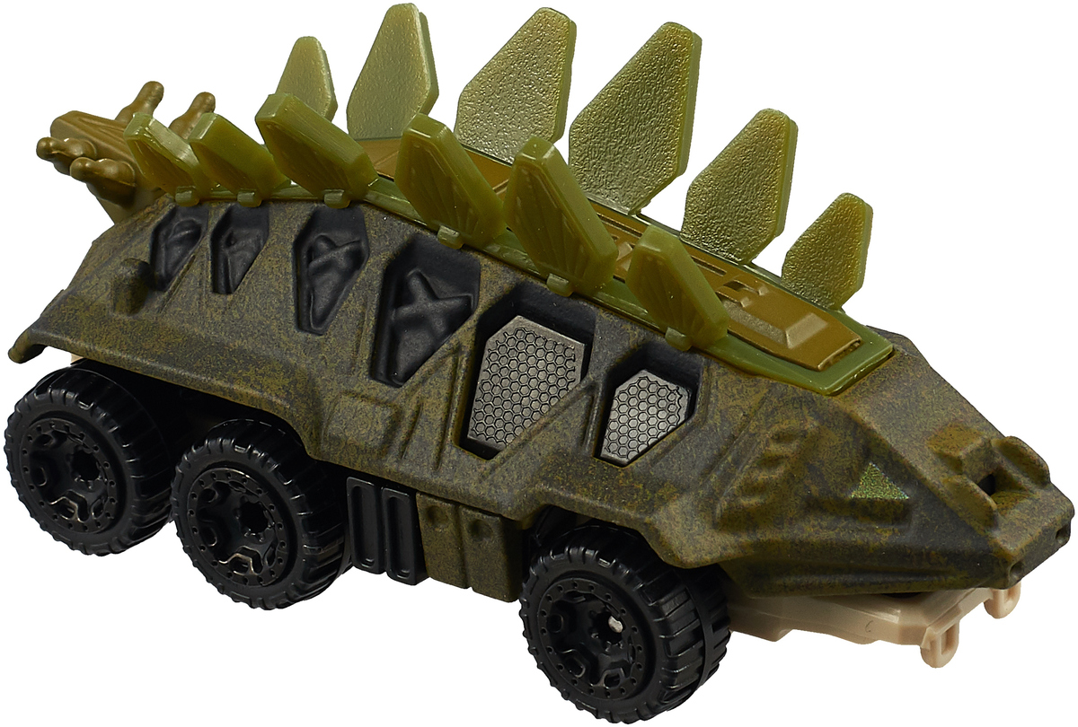 Hot Wheels Jurassic World Машинка Stegosaurus цена в Москве и Питере