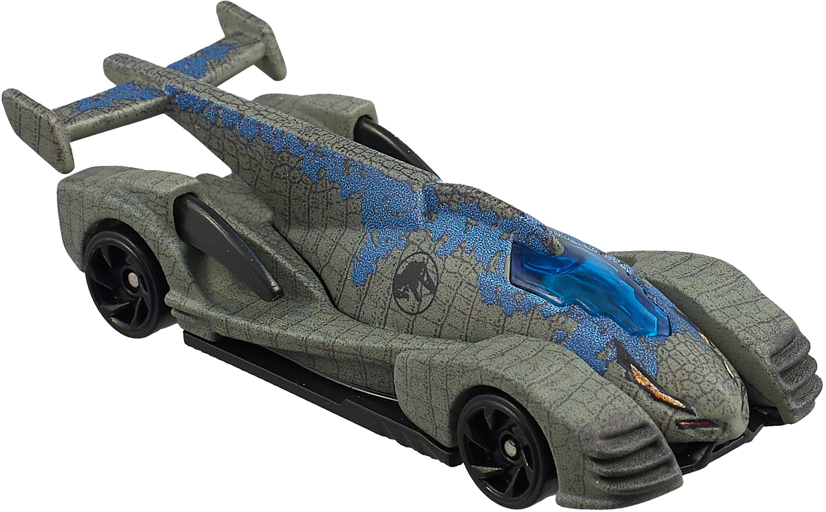Hot Wheels Jurassic World Машинка Velociraptor Blue