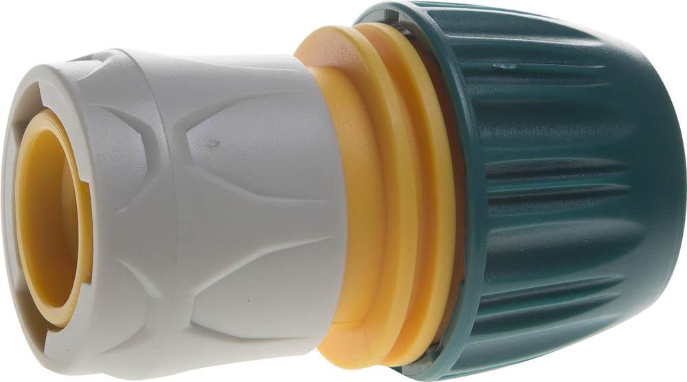 Фото - Соединитель шланга Raco, Original, универсальный, с автостопом. 4250-55196T соединитель шланг насадка с автостопом raco profi plus