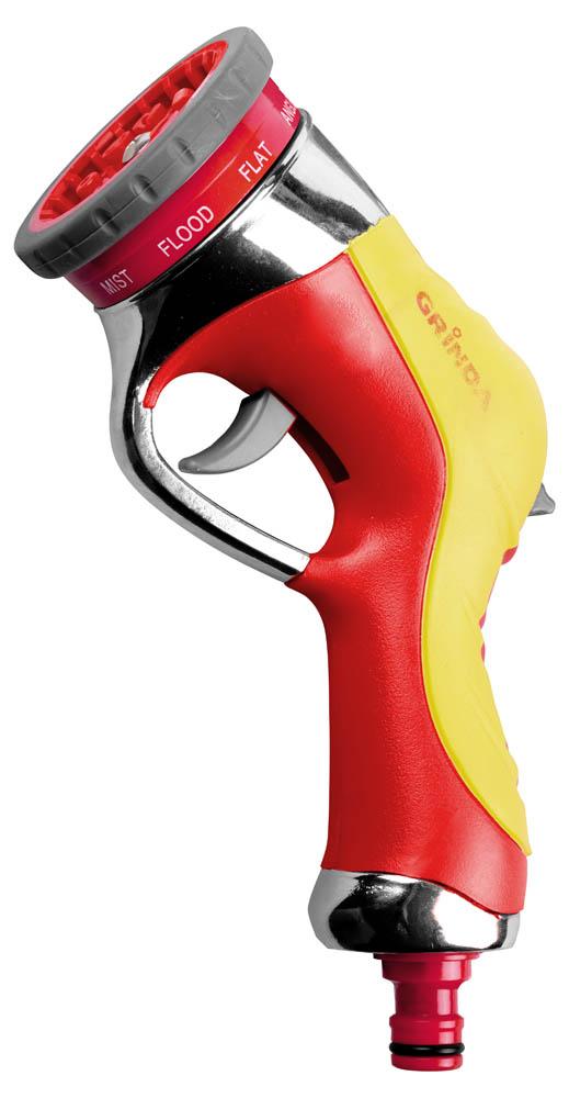 Пистолет-распылитель для полива Grinda, 9-позиционнный. 8-427141