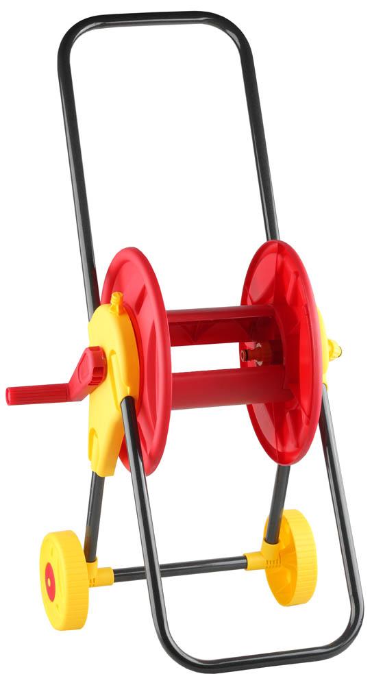 Катушка для шланга Grinda, на колесах. 8-428425_z01 катушка индуктивности jantzen cross coil 12 awg 2 mm 8 mh 0 62 ohm