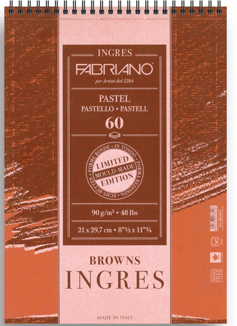 Фото - Fabriano Альбом для пастели Ingres 60 листов формат A4 65212972 fabriano альбом для пастели ingres 60 листов формат a4 65212972