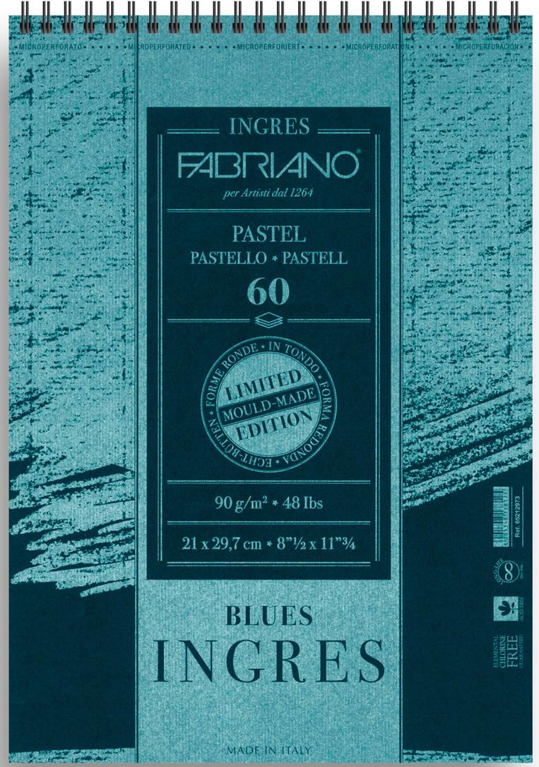 Фото - Fabriano Альбом для пастели Ingres 60 листов формат A4 65212973 fabriano альбом для пастели ingres 60 листов формат a4 65212972