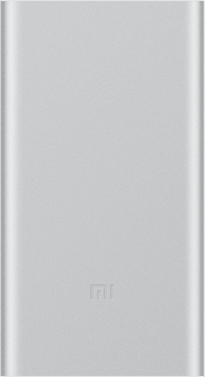 Xiaomi Power Bank Mi 2 Slim, Silver внешний аккумулятор (5 000 mAh) внешний аккумулятор mi power bank 2 10000 мач silver
