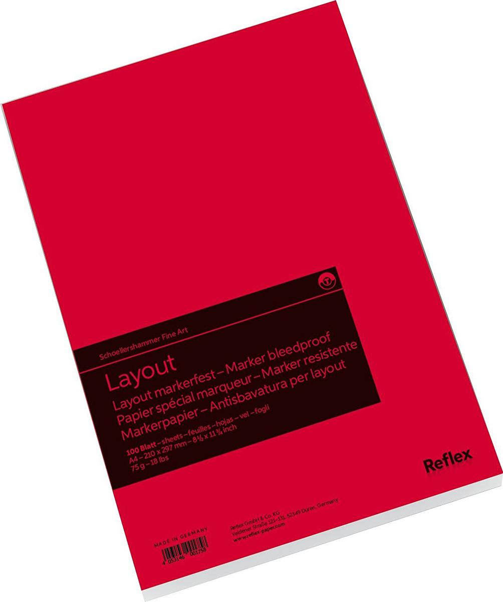 Reflex Альбом для маркера Marker Layout 100 листов формат A4