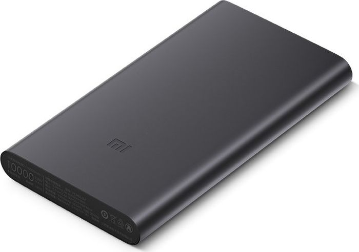 Внешний аккумулятор Xiaomi Mi Power Bank 2S 10000 mAh Black аккумулятор xiaomi mi power 2 plm02zm 10000 mah black