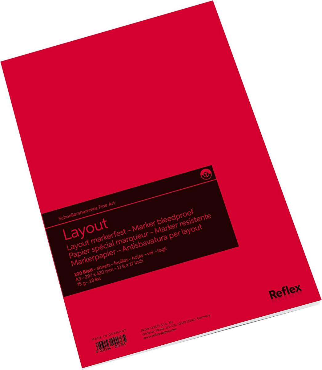 Reflex Альбом для маркера Marker Layout 100 листов формат A3