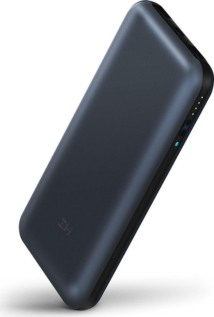 Xiaomi Power Bank ZMI QB815, Black внешний аккумулятор (15 000 mAh) xiaomi power bank mi zmi black внешний аккумулятор 10 000 mah