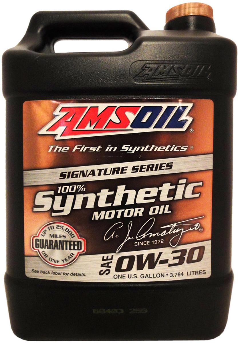 "Масло моторное Amsoil ""Signature Series Synthetic Motor Oil"", синтетическое, 0W-30, 3,78 л"