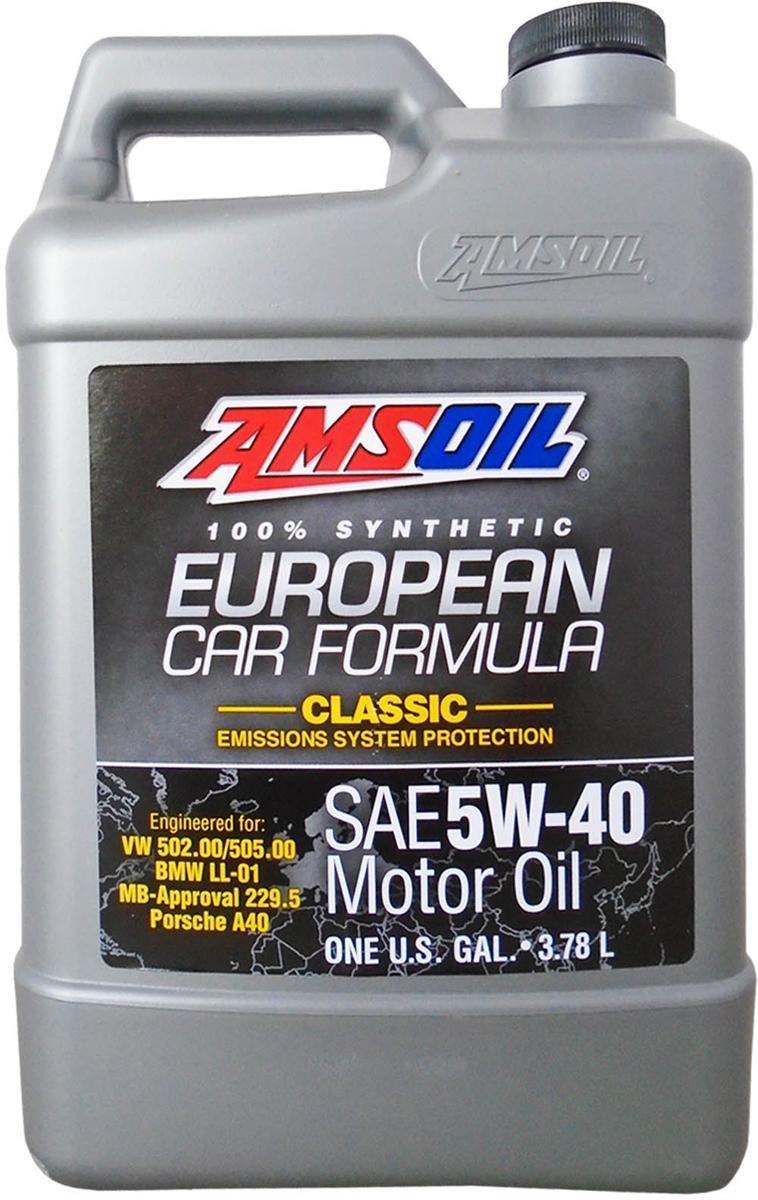 """Масло моторное Amsoil """"European Car Formula"""", синтетическое, 5W-40 Classic ESP Synthetic Motor Oil, 3,785 л"""
