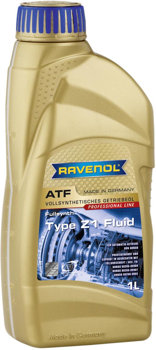 """Масло трансмиссионное Ravenol """"ATF Type Z1 Fluid"""", синтетическое, 1 л"""