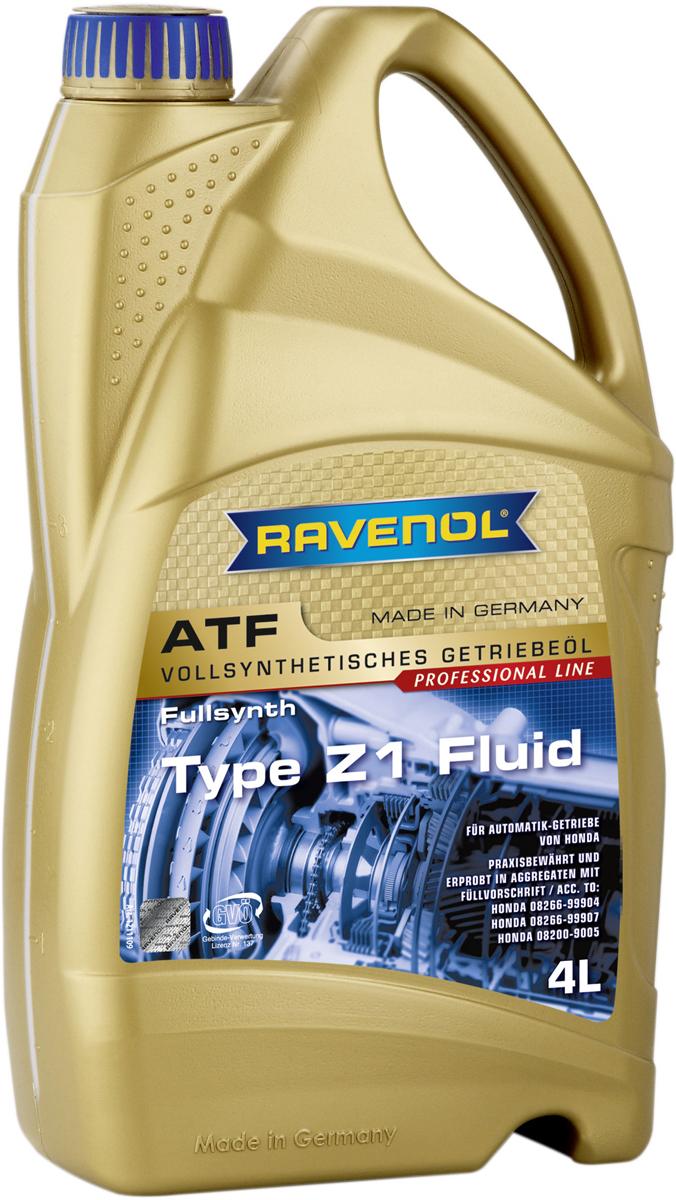 """Масло трансмиссионное Ravenol """"ATF Type Z1 Fluid, синтетическое, 4 л"""