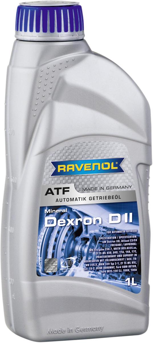 """Масло трансмиссионное Ravenol """"ATF Dexron DII"""", минеральное, 1 л"""