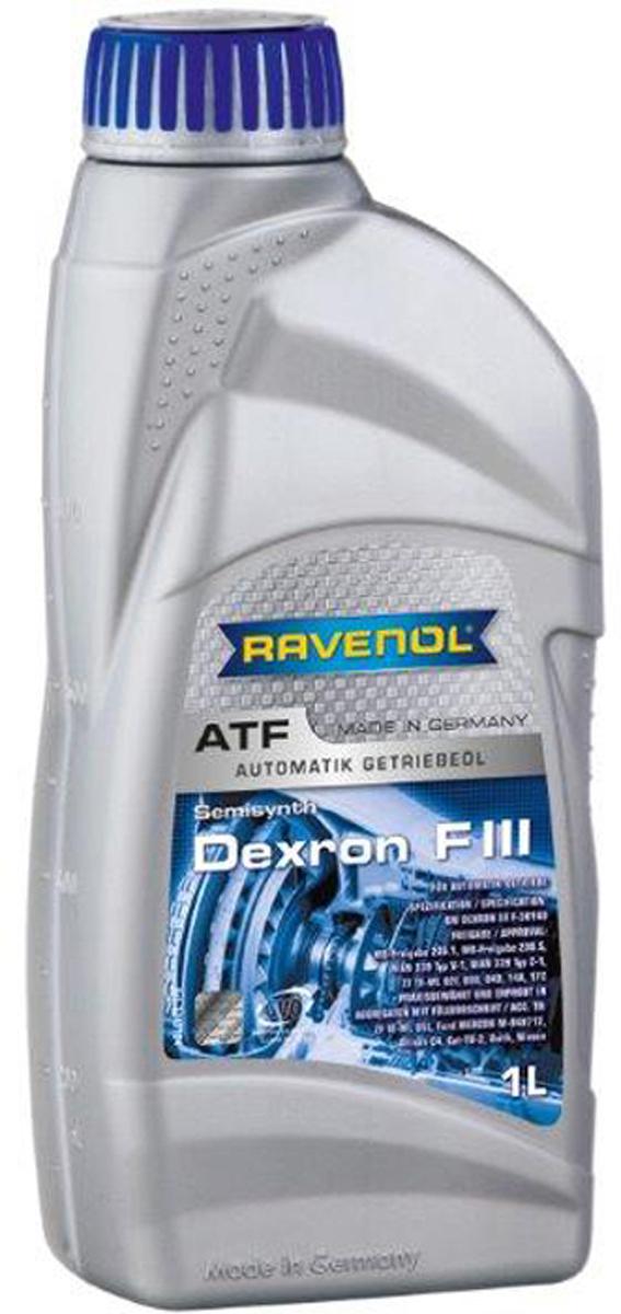 """Масло трансмиссионное Ravenol """"ATF Dexron F III"""", полусинтетическое, 1 л"""