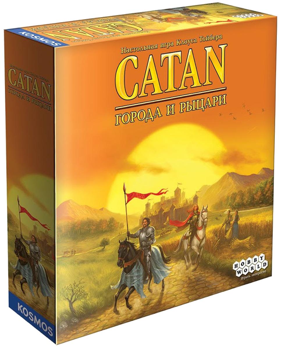 Hobby World Настольная игра Колонизаторы Города и рыцари (4-е издание) цена