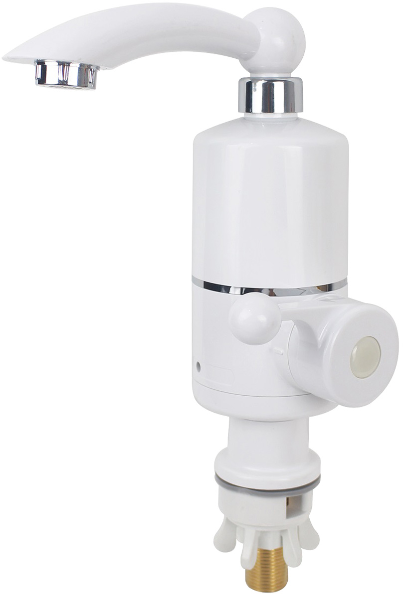 Смеситель для кухонной мойки РМС, горизонтальный, цвет: белый. SL127EL-019F смеситель для кухонной мойки рмс горизонтальный цвет черный sl123bl 004f 25