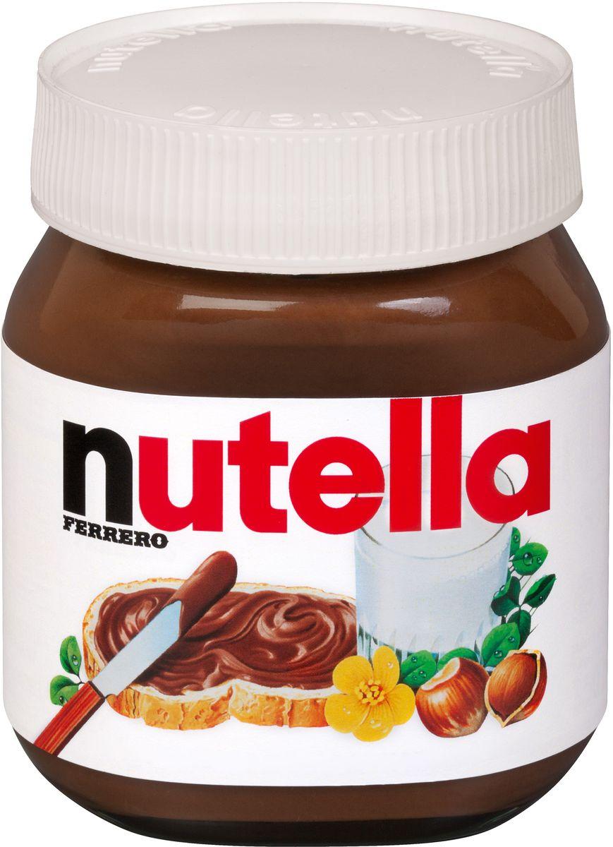 Паста ореховая Nutella с добавлением какао, 350 г шоколадная паста nutella 350г