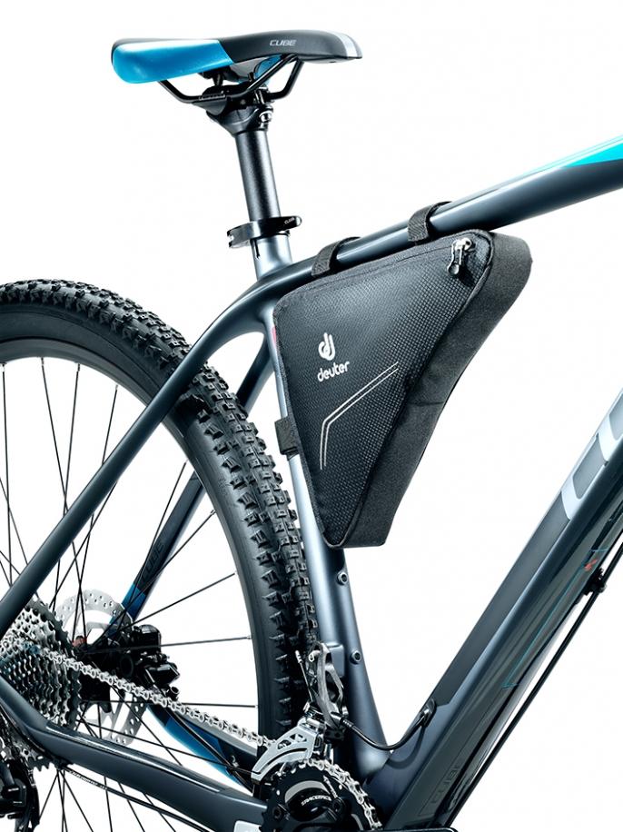 Велосумка под раму Deuter Triangle Bag, цвет: черный