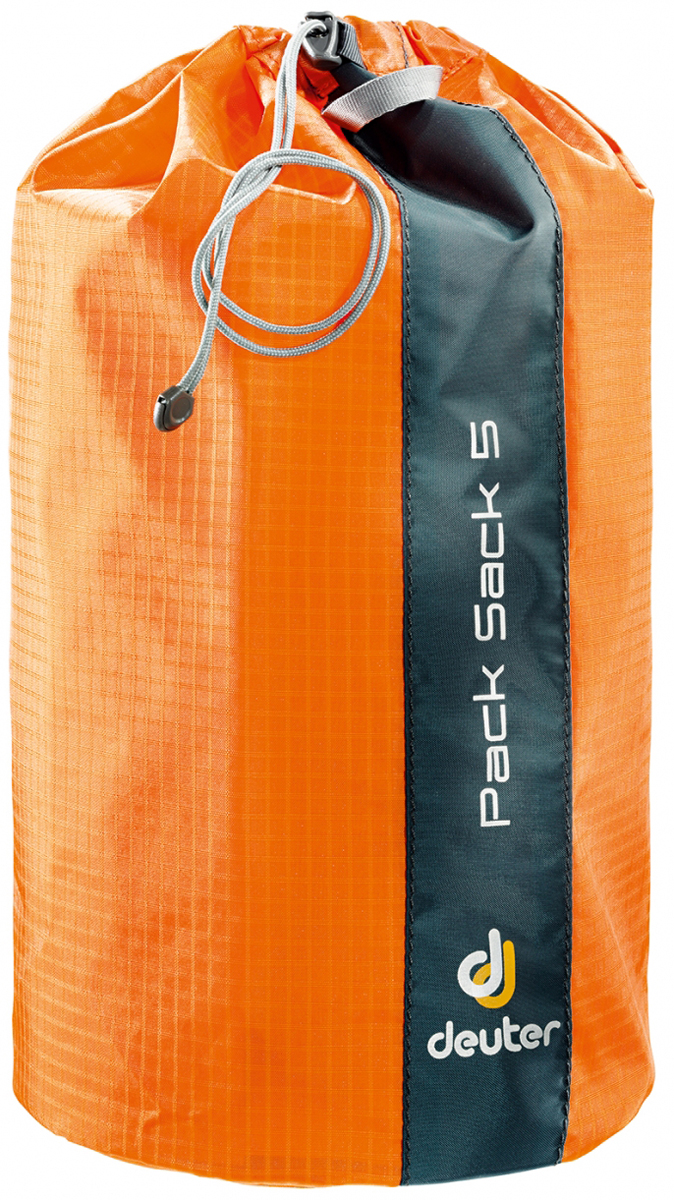 Гермомешок Deuter Pack Sack, цвет: оранжевый, 5 л