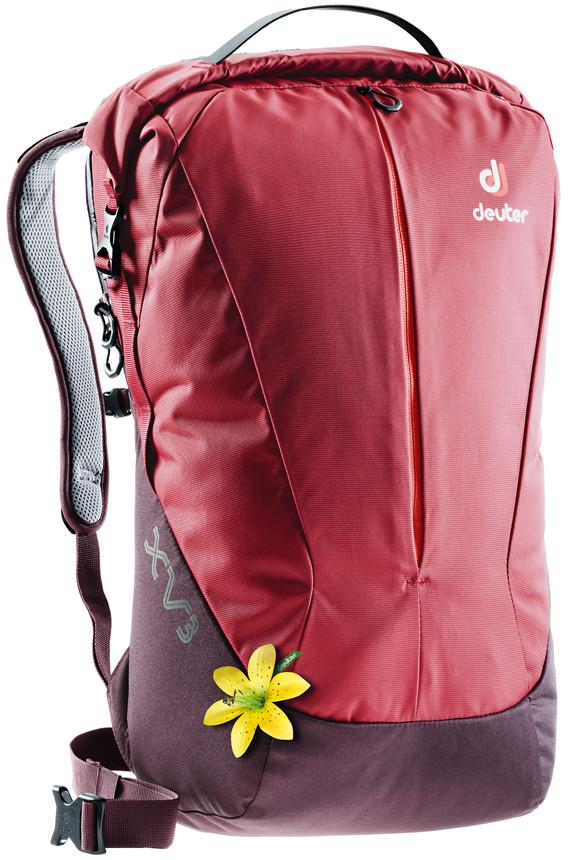 Рюкзак городской Deuter XV, цвет: бордовый, фиолетовый, 21 л городской рюкзак deuter futura 20 sl 20 л фиолетовый розовый 34194 3503