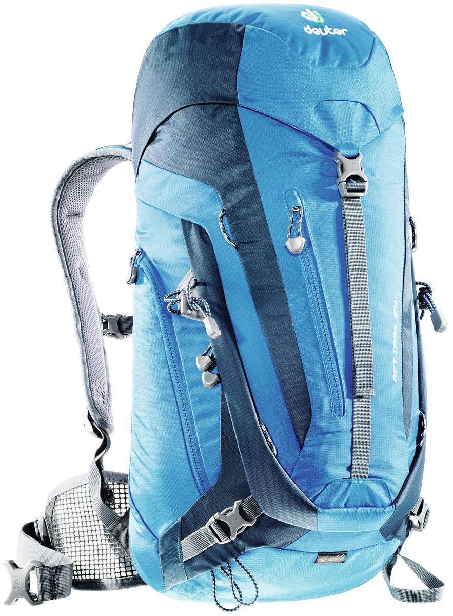 цена на Рюкзак туристический Deuter ACT Trail, цвет: синий, 24 л