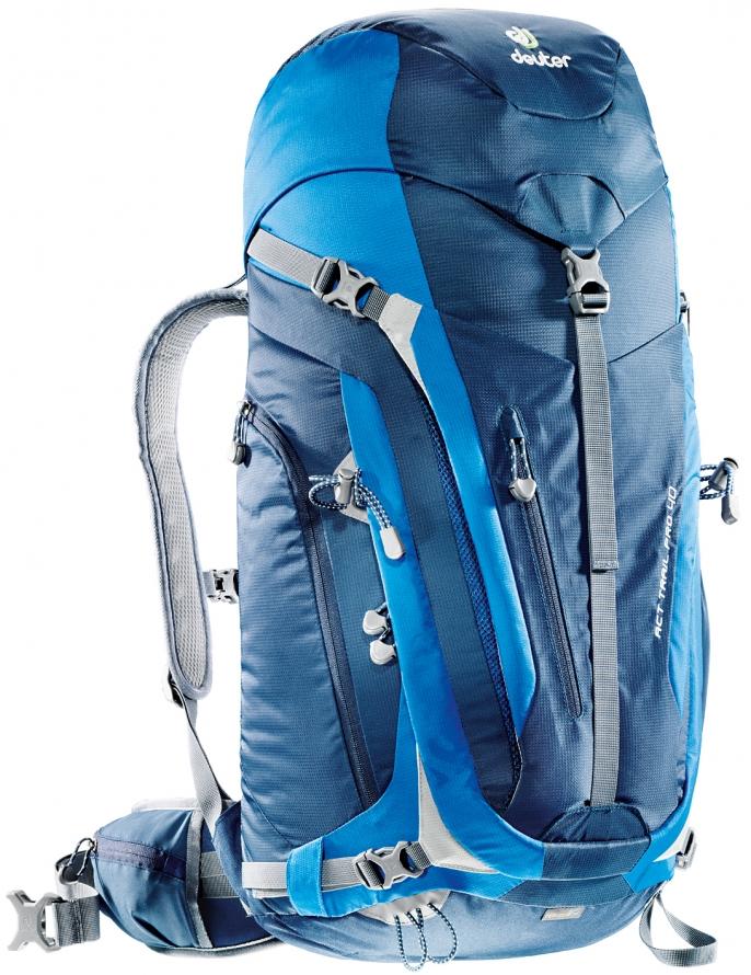 Рюкзак туристический Deuter ACT Trail, цвет: синий, темно-синий, 40 л