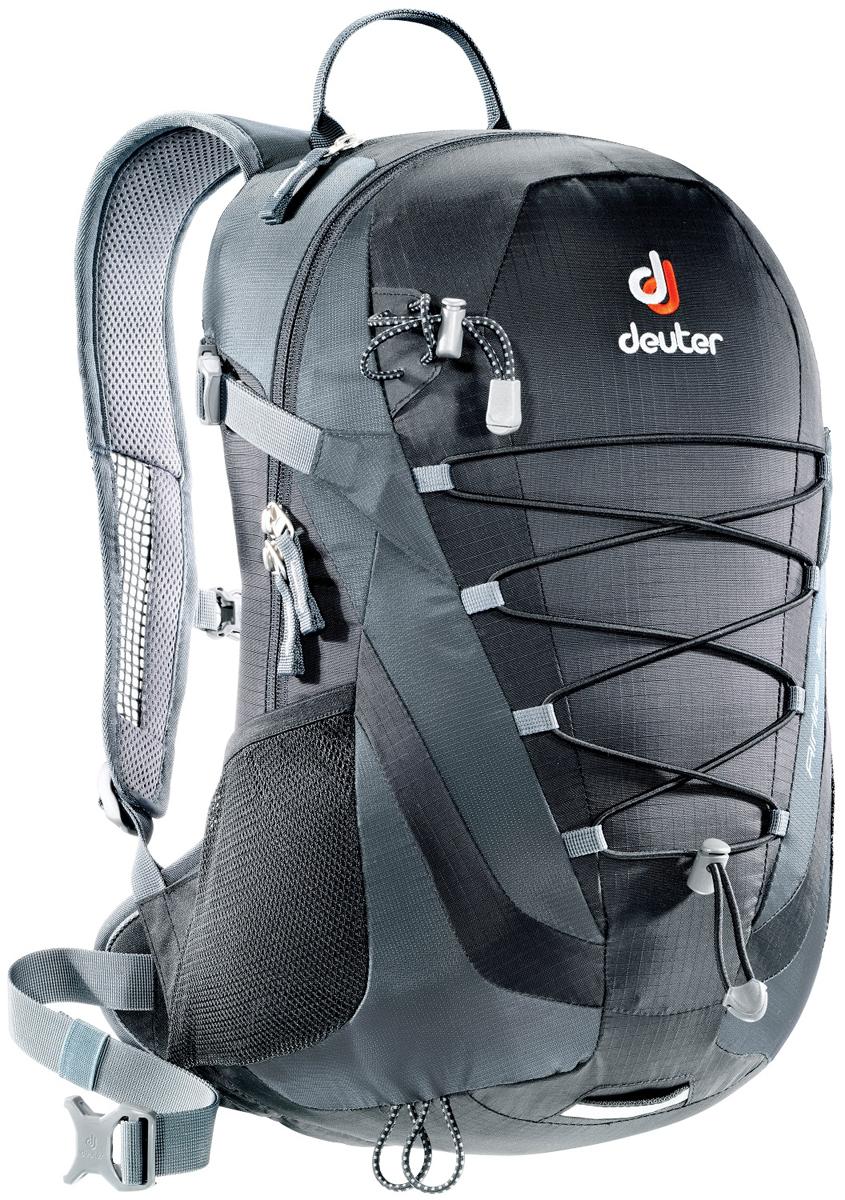 Рюкзак туристический Deuter Airlite, цвет: серый, черный, 16 л цена