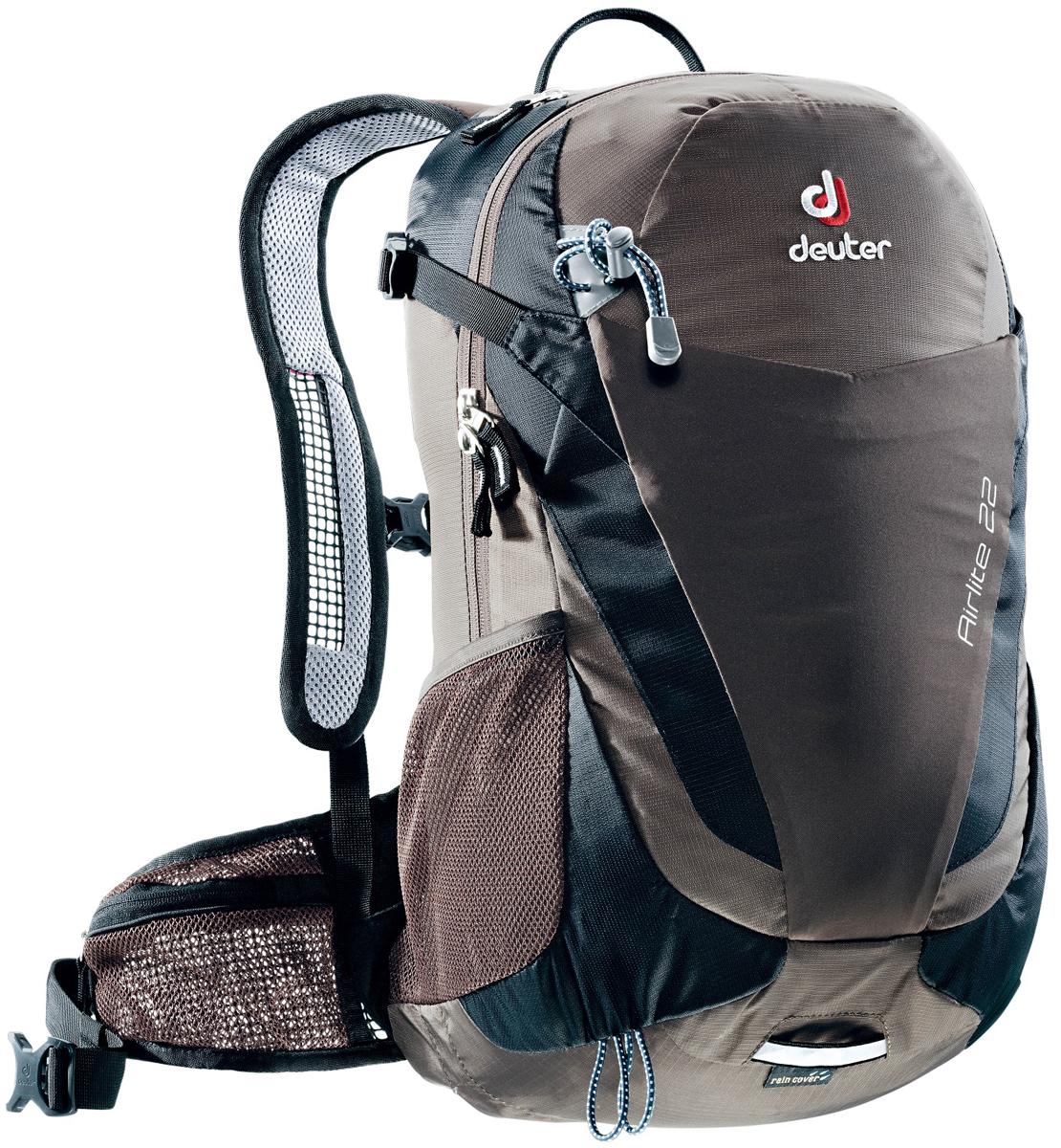 Рюкзак туристический Deuter Airlite, цвет: темно-серый, 22 л