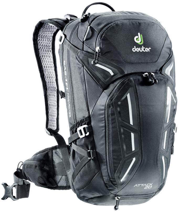 Рюкзак туристический Deuter Attack, цвет: черный, 20 л